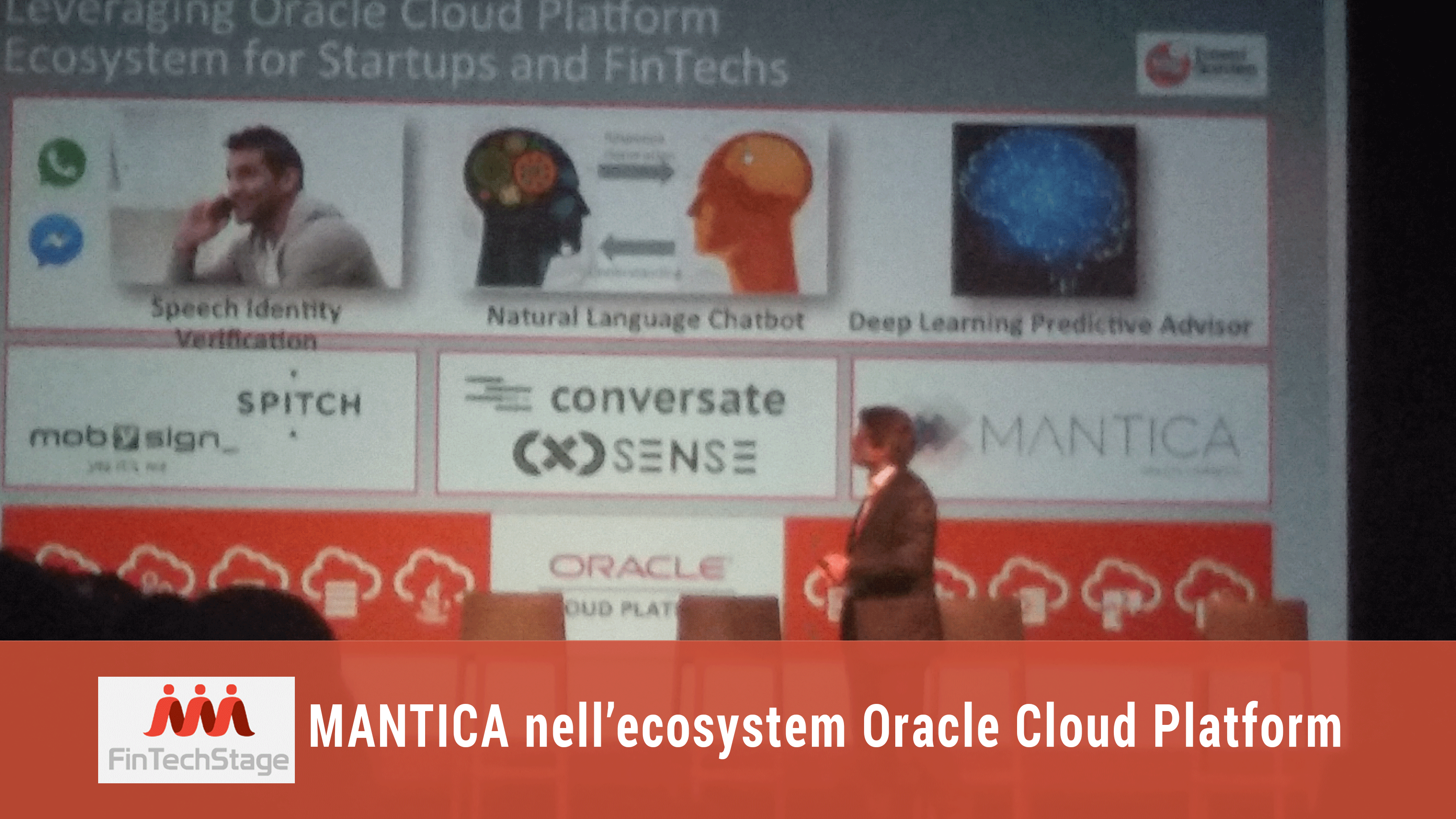 FinTech – Mantica nell'ecosystem Oracle Cloud Platform