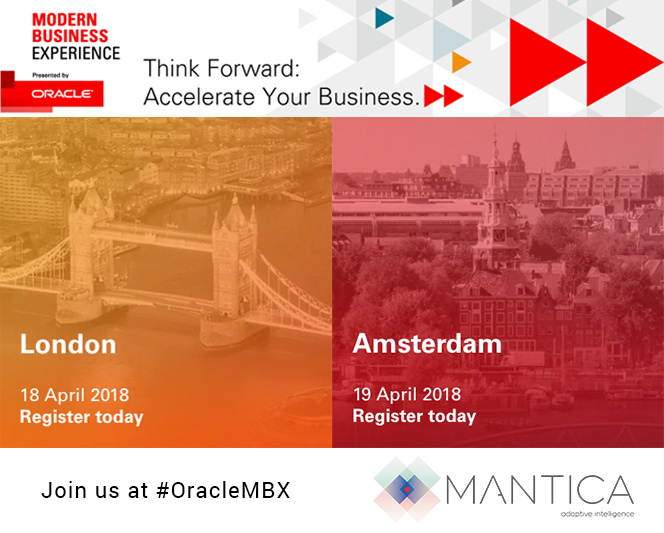 Mantica @ Oracle MBX – London – Amsterdam